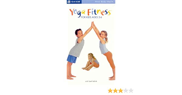 Amazon.com: Yoga Fitness for Kids Ages 3-6 [VHS]: Kalish ...