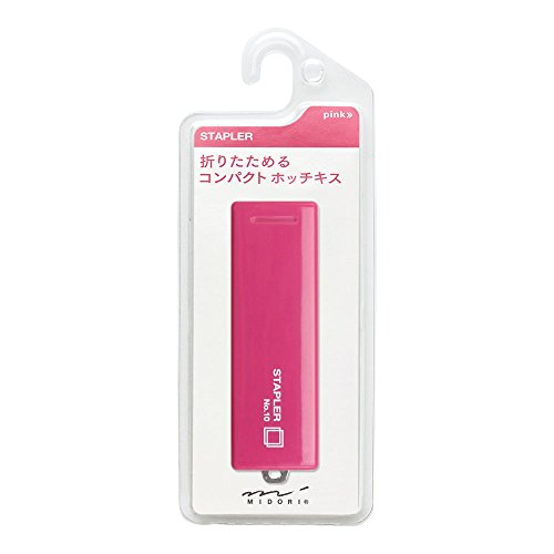 Midori CL Compact Stapler III Pink (35057006) Photo #3