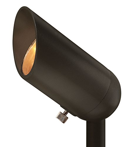 Hinkley Landscape Lighting Bronze Cast Spot Light - Spotlight Important Landscape Features and Increase Home Security, 50 Watt Maximum Spot Light, Bronze Finish, 1536BZ ()