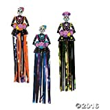 Day of the Dead Hanging Decorations - 3 pc