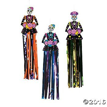 Day of the Dead Hanging Decorations for $<!--$9.99-->