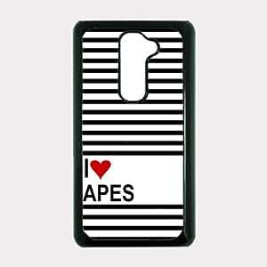 Love Heart Apes LG G2 Optimus G Case - For LG G2