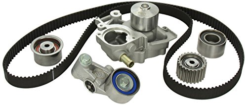 (Gates TCKWP304A Engine Timing Belt Kit with Water Pump)