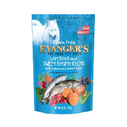 Evanger's Super Premium Whitefish and Sweet Potato Dry Dog Food 33lb