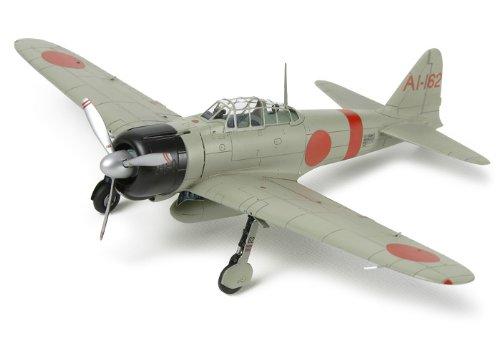 Tamiya 300025169 - 1:72 A6M2b Fighter (ZEKE) Eien no Zero, Probellerflugzeug