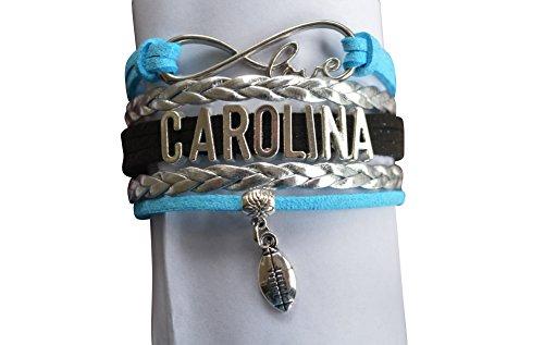 Carolina Panthers Bracelet - NFL Bracelet, Carolina Panthers Jewelry