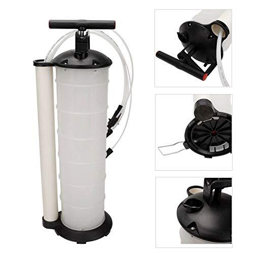 Fluid Extractor Pump - SUPERFASTRACING Oil Fluid Extractor 7L Manual Vacuum Fuel Petrol Pump Transfer Syphon Suction