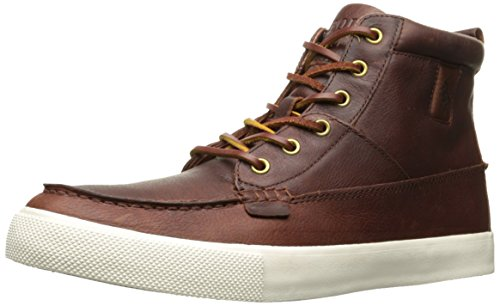 Polo Ralph Lauren Men's Tavis Sneaker, Tan, 12 D US