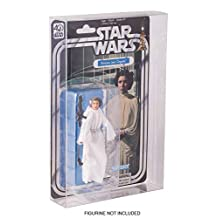 Star Wars Action Figure Display Case for Hasbro 40th Anniversary Carded Figures Scratch Resistant Acid-Free by EVORETRO