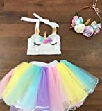 Lessonmart New Style Rainbow Mesh Skirts s Baby