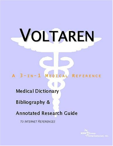 voltaren-a-medical-dictionary-bibliography-and-annotated-research-guide-to-internet-references