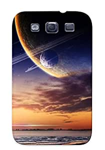 Extragrate Case Cover Planet Site Over The Ocean / Fashionable Case For Galaxy S3