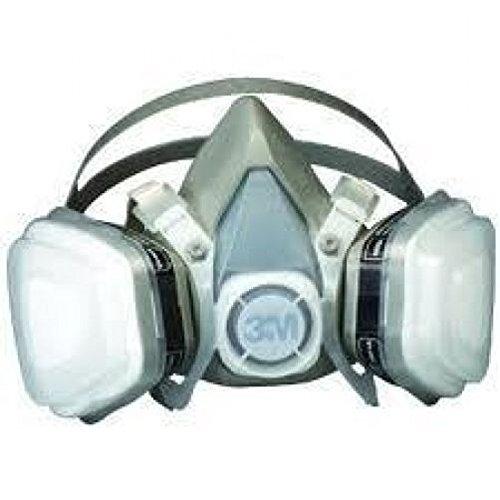 3M 7192 (12-pk) Dual Cartridge Respirator Assembly 07192 Organic Vapor/P95 - ()