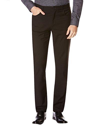 perry-ellis-portfolio-slim-black-solid-flat-front-new-mens-dress-pants-38w-x-30l