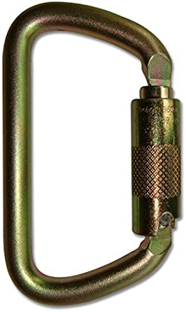 d4237d2ae02 Image Unavailable. Image not available for. Color  ProClimb USR-98-C09T NFPA  D Carabiner Triple Lock