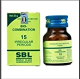 SBL Homeopathic Bio Combination 15 (25g) by USAMALL