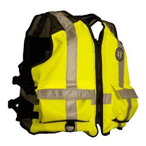 Mustang Survival - MV1254 T3 L/XL - Life Jacket, Yellow/Green, L/XL by Mustang Survival (Image #1)