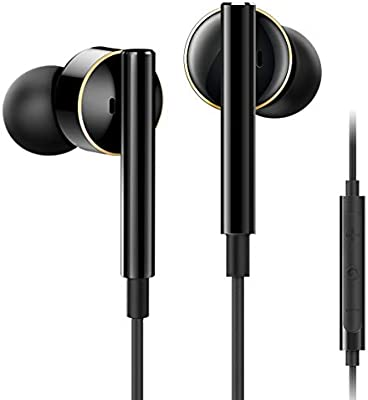 Amazon Com Tangmai Wired Earbuds In Ear Headphones With Microphone Mems Coaxial Dual Driver Best Earbuds Wired Earphones With Volume Control High Fidelity Sound 3 5mm For Laptop Phone Pc 2020 Updated Black Home Audio