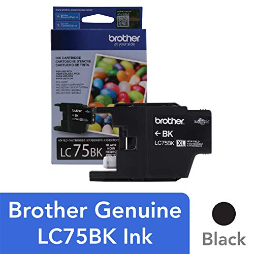 Brother Genuine High Yield Black Ink Cartridge