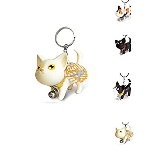 Keychain Vinyl Cute Keyring Cat Gift Toy Jingle Hot - Crown Slider Charm