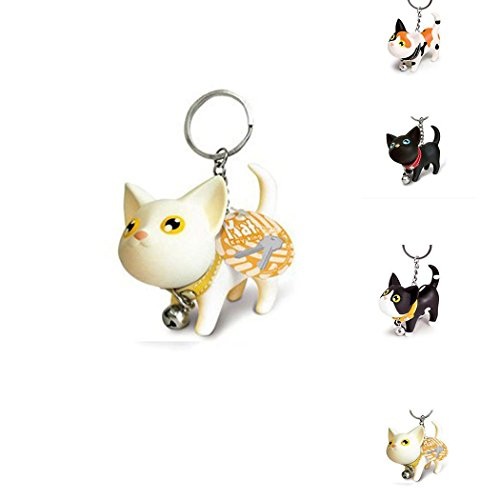 Keychain Vinyl Cute Keyring Cat Gift Toy Jingle Hot