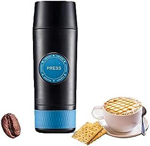 Zashin Máquina portátil de café Italiano de Coches de Carga Viajes 18BAR café Termo Copa cápsula de café en Polvo eléctrico del café en Polvo Cafetera y cápsulas compatibles: Amazon.es: Hogar