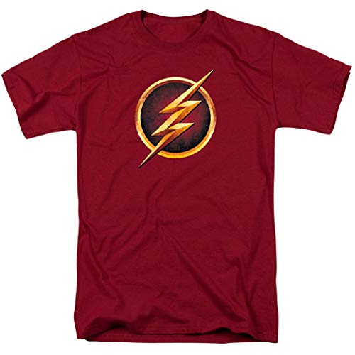 The Flash TV Series Logo T Shirt and Exclusive Stickers -