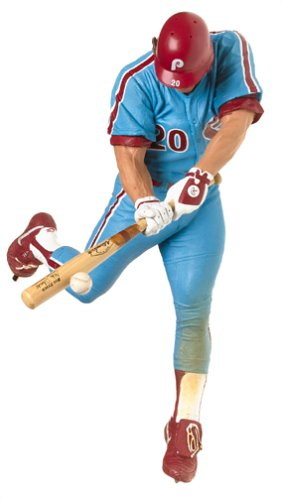 Mlb Cooperstown Series 2 Figure  Mike Schmidt With Blue Jersey