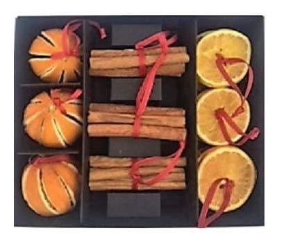 Decorazioni Natalizie Con Arance Essiccate.Secchi Arancia E Cannella Naturale Decorazioni Di Natale Con Scatola