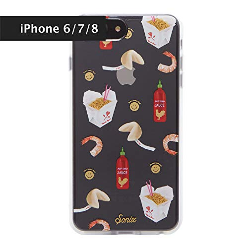 Sonix Take Out, Chinese Food Cell Phone Case [Military Drop Test Certified] Protective Clear Case for Apple iPhone 6, iPhone 7, iPhone 8