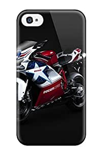 High-quality Durable Protection Case For Iphone 4/4s(bikes 038 Motorcycles Ducati 848 Bike)