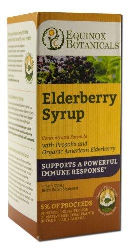 Equinox Botanicals Children's Elderberry Syrup 4 oz