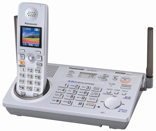 Panasonic KX-TG5776S  5.8 GHz FHSS GigaRange  Expandable Digital Cordless Phone System