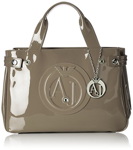 Armani Jeans 922526CC855, Bolso Mujer Beige (Taupe 07753)