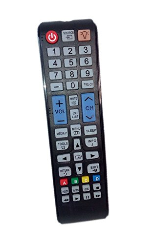 Replaced Remote Control Compatible for Samsung UN19F4000AFXZA UN37EH5000FXZA PN60F5300AF UN46F5050AFXZA UN40H4005AFXZA LED HDTV PLASMA TV