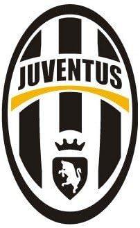 juventus de turin juve adesivo stemma della squadra logo adesivo motivo calcio 17 cm amazon it auto e moto juventus de turin juve adesivo stemma