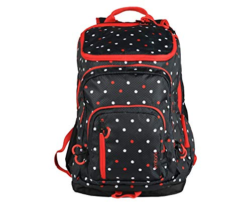 best deals on red and white polka dot backpack products