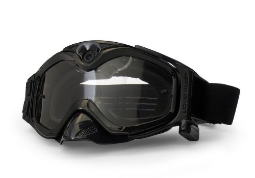 The Liquid Image XSC Impact Series HD 365BK MX Goggle with Integrated True POV HD Video Camera with 1.5x Optical Zoom and 1-Inch LCD Screen - Black Pov Lens Series