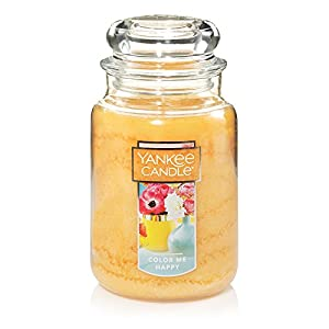 Yankee Candle Large Jar Candle, Color Me Happy