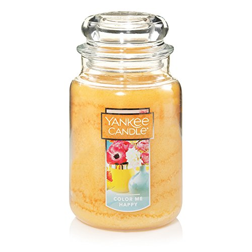 Color Jar (Yankee Candle Large Jar Candle, Color Me Happy)