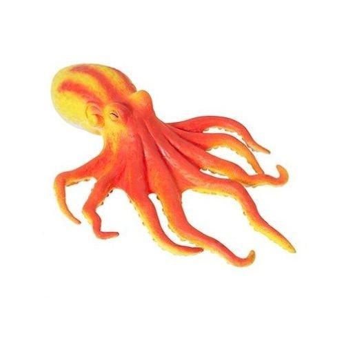 Squishy Squeeze Octopus Squeezable Sensory Exploration Sea Life Creature Tactile Fidget Autism Special Needs (Orange) (Sea Life Activity Table)
