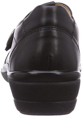 Ganter Helga Sensibile Vasta H Signora Pantofola Nero (black 0100)