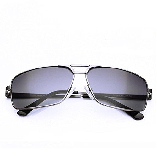 Sol de polarizador Macho Sol Hombres de Gafas de Gafas Asymptotically Hombres The Gafas de Gun los KOMNY de Hombres polarizadores Sol los Is Ash Color Conductores de Pistola xEa1q0w0