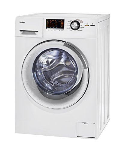 (Haier HLC1700AXW Compact Laundry Combo Washer/Dryer, White)