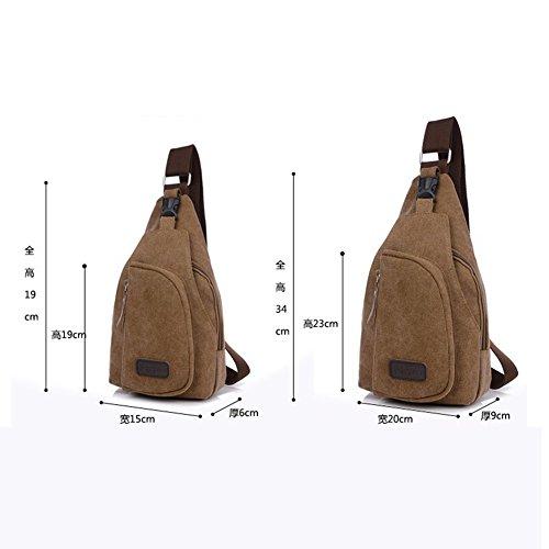 Chest Holiday Accessories Cross Bag Boys Cover Jinm Satchel Bags Canvas sports Casual Travel men's Blue Handbag Body Bag Messenger bag Bag Black Shoulder Vintage dTOUwnYw
