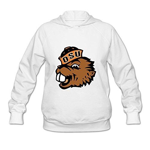 KEIKO Women's Oregon State University OSU Logo Hoodies S White