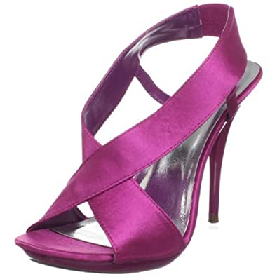 Michael Antonio Women's Tallie Slingback Sandal,Magenta,5.5 M US