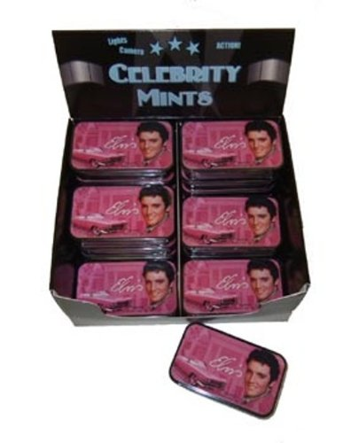 Elvis Presley Mints Peppermint Style