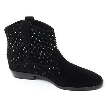 Michael Kors B8673 Tronchetto Donna DANI Bootie Scarpa Nero Shoe Boot Woman 2