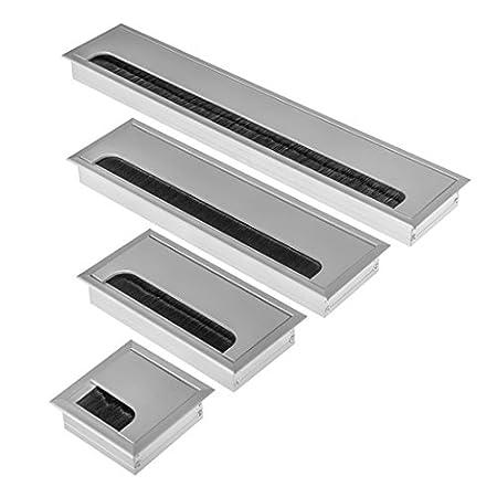Hochwertige Aluminium Kabeldurchfü hrung Kabeldurchlass Kabelauslass ALU verschiedene Grö ß en (80x280mm) Onpira
